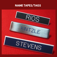Name Tapes/Tags