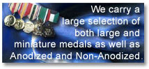 Jaymil Products & Services: Medal Mounting and Ribbon Mounting